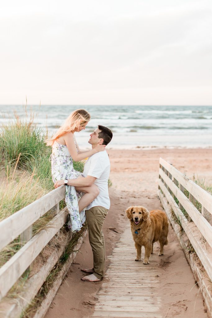 Engagement Photos PEI National Park Dalvay Photographer